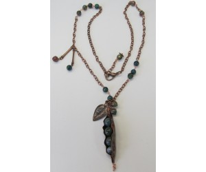 "BBTBMB150              ""PeaPod Garden Necklace"""